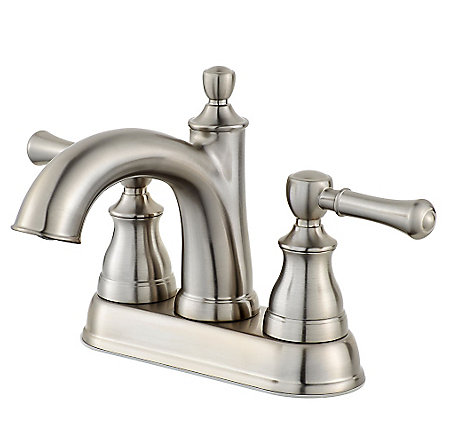 Brushed Nickel Autry Centerset Bath Faucet - LF-048-AUKK - 1
