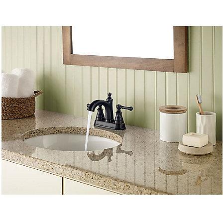 Tuscan Bronze Autry Centerset Bath Faucet - F-048-AUYY - 3