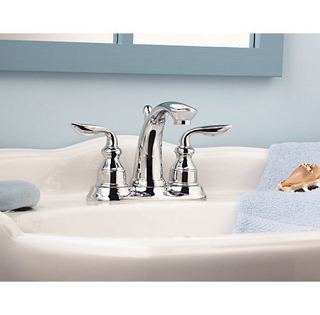 Polished Chrome Avalon Centerset Bath Faucet - LF-048-CB0C - 3
