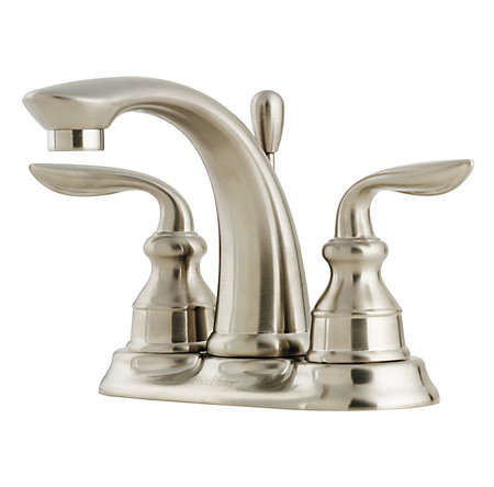 Brushed Nickel Avalon Centerset Bath Faucet - LF-048-CB0K - 1