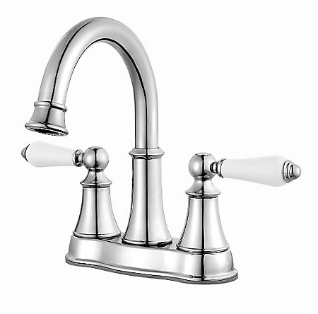 Polished Chrome Courant Centerset Bath Faucet - LF-048-COPC - 1