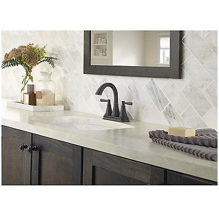 Tuscan Bronze Cantara Centerset Bath Faucet - LF-048-CRYY - 2