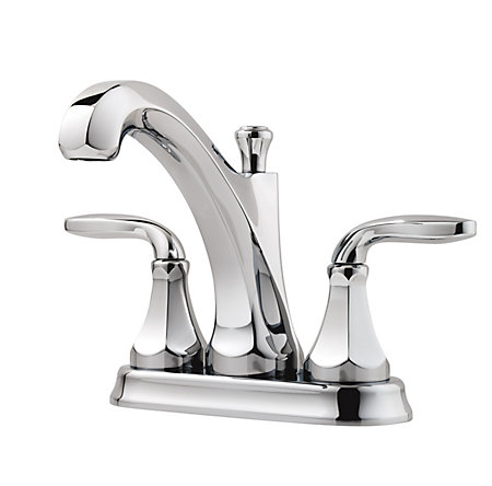 Polished Chrome Designer Centerset Bath Faucet - F-048-DECC - 1