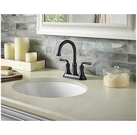 Tuscan Bronze Declan Centerset Bath Faucet - F-048-DNYY - 2
