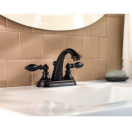 Tuscan Bronze Catalina Centerset Bath Faucet - LF-048-E0BY - 2