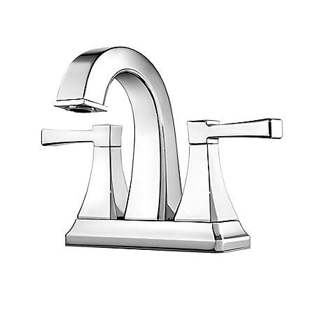 Polished Chrome Halifax Centerset Bath Faucet - F-048-HLCC - 1