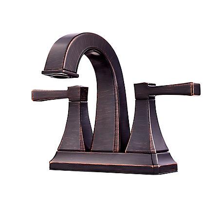 Tuscan Bronze Halifax Centerset Bath Faucet - F-048-HLYY - 1