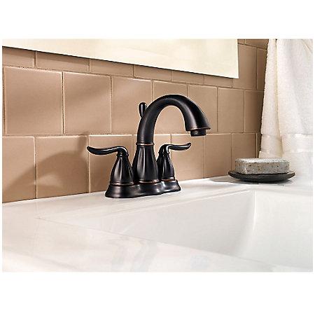 Tuscan Bronze Sedona Centerset Bath Faucet - F-048-LT0Y - 2