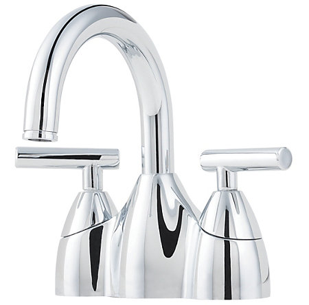 Polished Chrome Contempra Centerset Bath Faucet - LF-048-NC00 - 1
