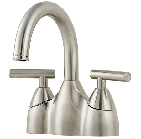 Brushed Nickel Contempra Centerset Bath Faucet - F-048-NK00 - 1