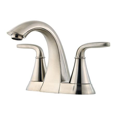 Brushed Nickel Pasadena Centerset Bath Faucet - LF-048-PDKK - 1