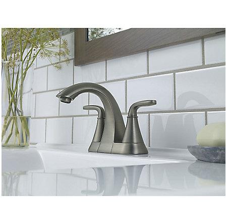 Slate Pasadena Centerset Bath Faucet - LF-048-PDSL - 2