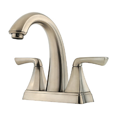 brushed nickel selia centerset bath faucet - f-048-slkk - 1