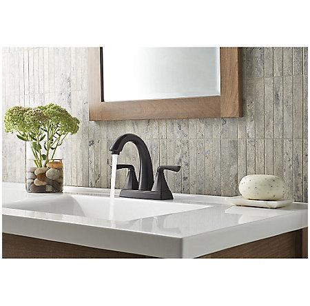 Tuscan Bronze Selia Centerset Bath Faucet - LF-048-SLYY - 3