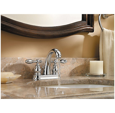 Polished Chrome Unison Centerset Bath Faucet - F-048-UNCC - 3