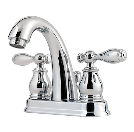 polished chrome unison centerset bath faucet - f-048-uncc - 1