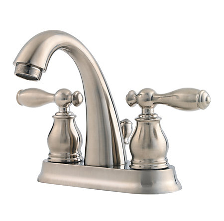 Brushed Nickel Unison Centerset Bath Faucet - F-048-UNKK - 1