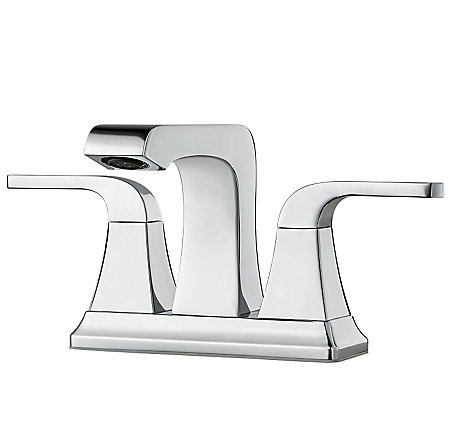 Polished Chrome Vorena Centerset Bath Faucet - F-048-VOCC - 1