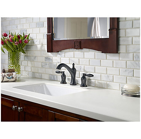 Tuscan Bronze Arlington Widespead Bath Faucet - LF-049-ARYY - 2