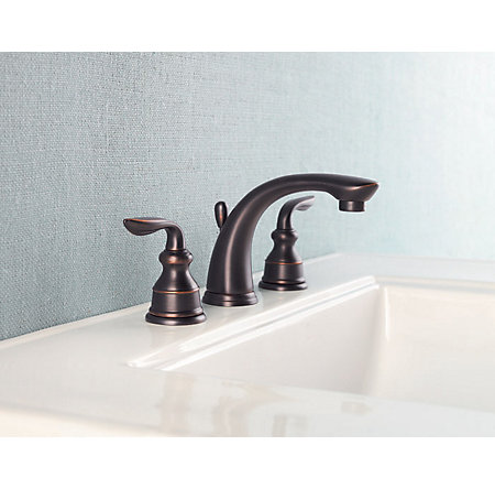 Tuscan Bronze Avalon Widespread Bath Faucet - LF-M49-CBYY - 2