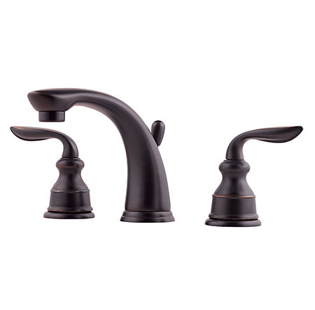 Tuscan Bronze Avalon Widespread Bath Faucet - LF-M49-CBYY - 1