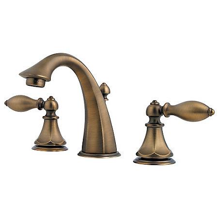 Velvet Aged Bronze Catalina Widespread Bath Faucet - LF-049-E0BV - 1