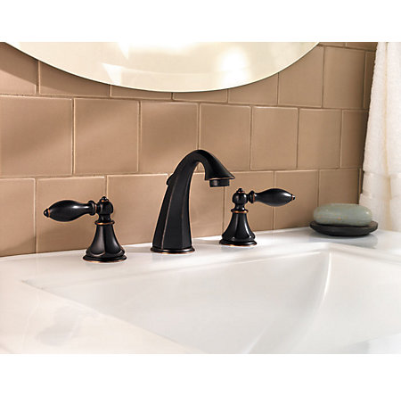 Tuscan Bronze Catalina Widespread Bath Faucet - LF-049-E0BY - 2
