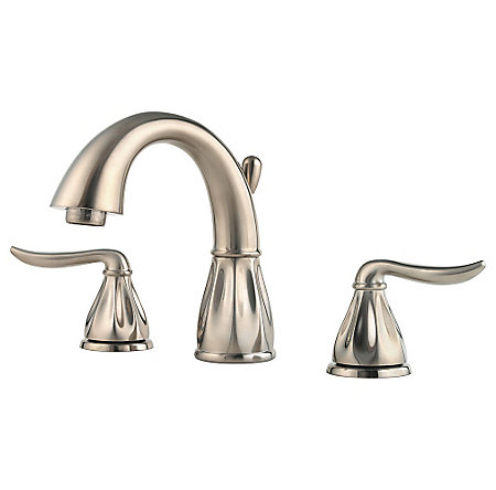 Brushed Nickel Sedona Widespread Bath Faucet - F-049-LT0K - 1