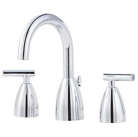 Polished Chrome Contempra Widespread Bath Faucet - LF-049-NC00 - 1