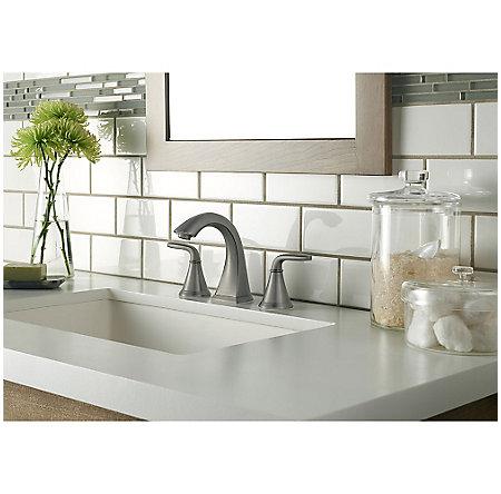 Slate Pasadena Widespread Bath Faucet - LF-049-PDSL - 2