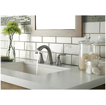 Slate Pasadena Widespread Bath Faucet - LF-049-PDSL - 3
