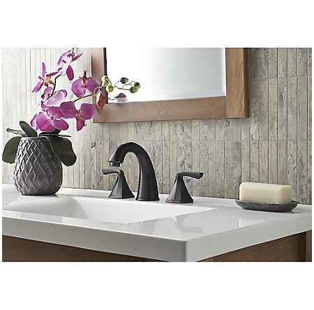 Tuscan Bronze Selia Widespread Bath Faucet - LF-049-SLYY - 2