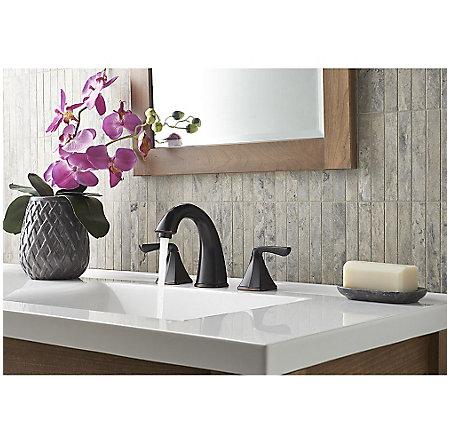 Tuscan Bronze Selia Widespread Bath Faucet - LF-049-SLYY - 3