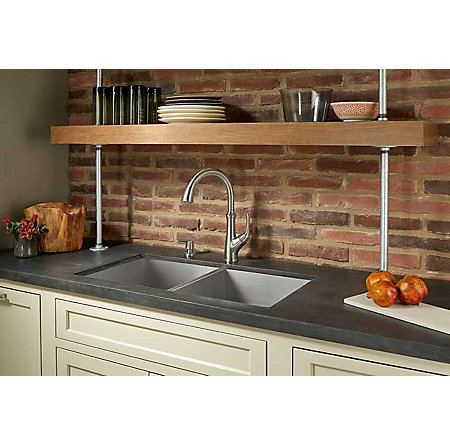 Stainless Steel Tamera Pulldown Kitchen Faucet - F-529-7TAS - 5