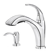 selia 1-handle, pull-out kitchen faucet