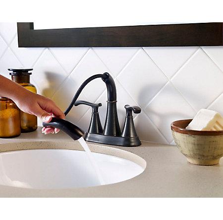 Tuscan Bronze Ideal Centerset Bath Faucet - LF-548-IDYY - 3