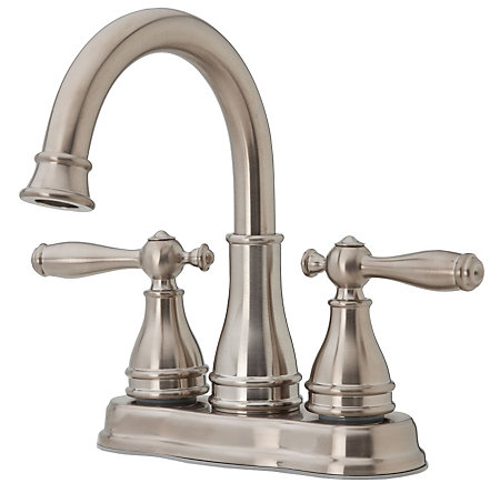 Brushed Nickel Sonterra Centerset Bath Faucet - LF-WL2-450K - 1