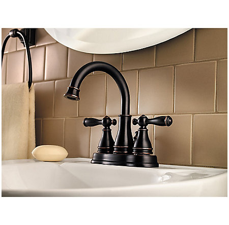 Tuscan Bronze Sonterra Centerset Bath Faucet - LF-WL2-450Y - 2