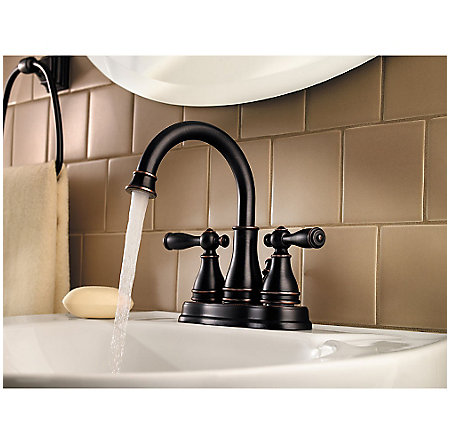 Tuscan Bronze Sonterra Centerset Bath Faucet - LF-WL2-450Y - 3