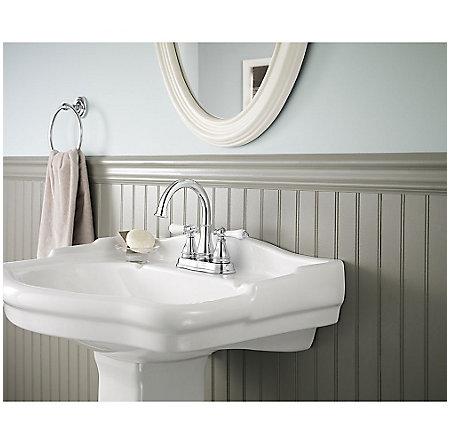Polished Chrome Sonterra Centerset Bath Faucet - LF-WL2-45PC - 2