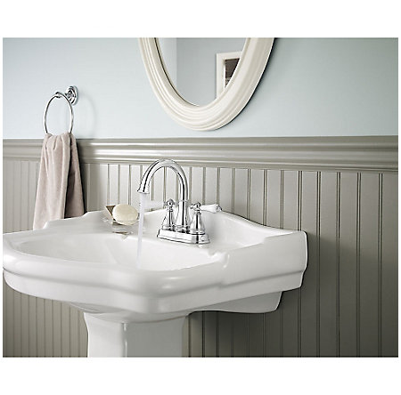 Polished Chrome Sonterra Centerset Bath Faucet - F-WL2-45PC - 3