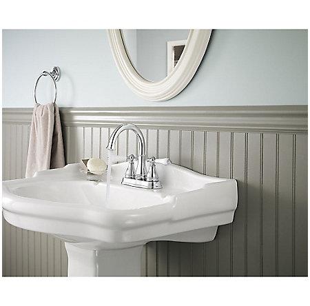 Polished Chrome Sonterra Centerset Bath Faucet - LF-WL2-45PC - 3