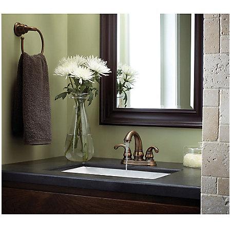 Velvet Aged Bronze Treviso Centerset Bath Faucet - F-048-DV00 - 3