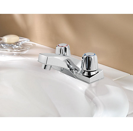 Polished Chrome Pfirst Series Centerset Bath Faucet - G143-5000 - 2