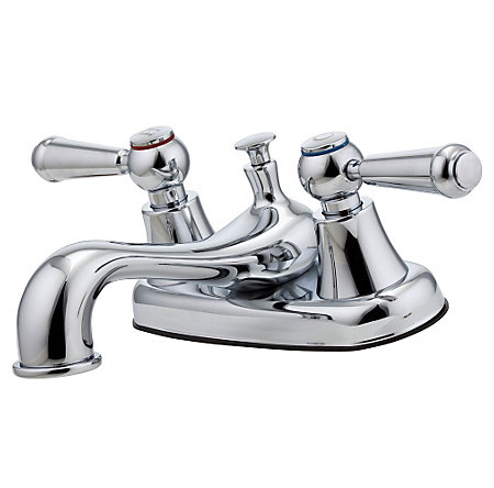 Polished Chrome Pfirst Series Centerset Bath Faucet - LG148-6000 - 1