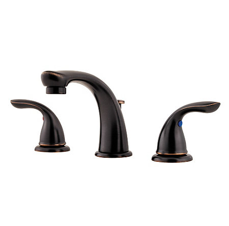 Tuscan Bronze Pfirst Series Widespread Bath Faucet - LG149-610Y - 1