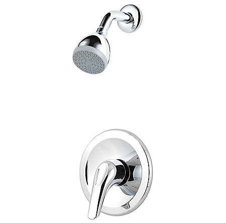 Polished Chrome Pfirst Series 1-Handle Shower, Trim Only - G89-0200 - 1