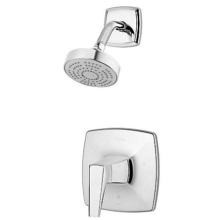 Polished Chrome Arkitek 1-Handle Shower, Trim Only - G89-7LPMC - 1