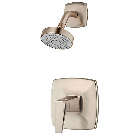 Brushed Nickel Arkitek 1-Handle Shower, Trim Only - G89-7LPMK - 1