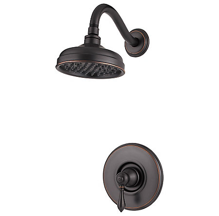 Tuscan Bronze Marielle Shower Only - G89-7MBY - 1